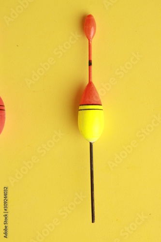 Obraz na plátně ball or cork, for fishing with rod
