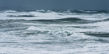 Storm Waves In The Atlantic Oc...