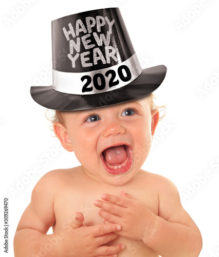 Obraz Happy new year baby - fototapety do salonu