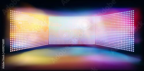 Fotografija Large led projection screens