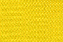 Bright Yellow Leather Backgrou...