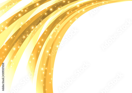 シャワー状に噴出する輝きの背景 Canvas-taulu