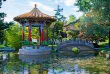 The Chinese Garden And Temple