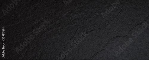 Rough marble rock black sand wall texture material - fototapety na wymiar