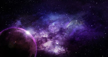 Abstract Space Illustration, M...