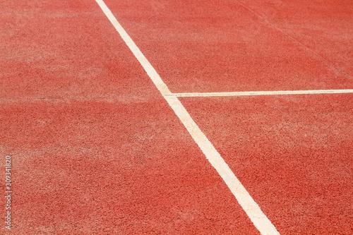Pista de tenis textura recorte Canvas Print