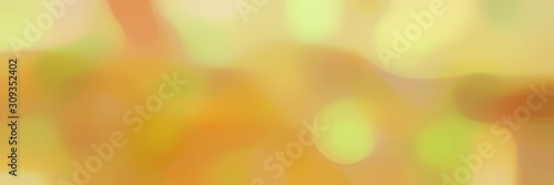 Fototapeta blurred bokeh horizontal background with peru, sandy brown and khaki colors space for text or image obraz na płótnie