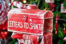 Christmas Box Letters To Santa