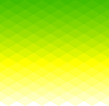 Abstract Pattern Of Geometric Shapes. Seamless Green Rhombuses Mosaic.