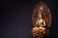 Statue Of Bronze Of Bodhisattv...