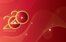 Happy New Year 2020. Holiday G...