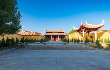 The Scenery Of Kaiyuan Temple In Quanzhou City, Fujian Province, China