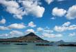 Magritte sky, Flic en Flac, Mauritius
