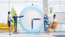 Time Management Concept. 3d Il...