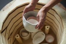 Inside Of A Ceramic Oven