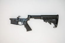 AR15 Lower Receiver Isolated O...