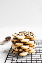 Chocolate Drizzled Shortbread ...