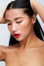Beautiful Asian Girl Beauty Portrait