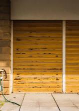 Old Wooden Window Shutter