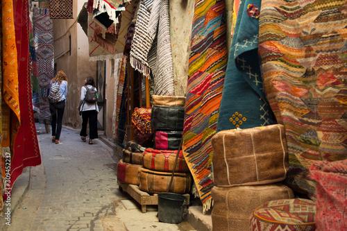 Fotomural  Tappeti, Fez Marocco