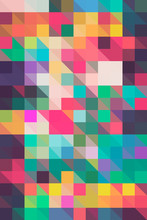 Colorful Mosaic Background/Pat...