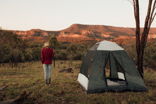 Camping In The Australian Outb...