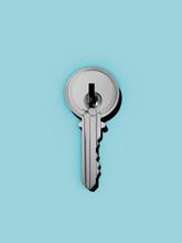 Key With Deadbolt