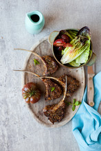 Zaatar Spiced Lamb Chops