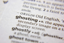 Word Or Phrase Ghosting In A Dictionary.