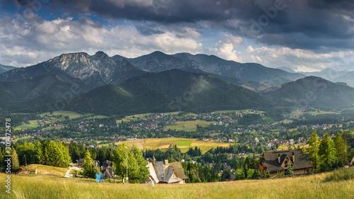 Fototapeta Zakopane and Tatra Mountains/Poland obraz