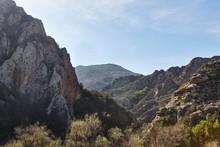 Santa Monica Mountain In Malib...