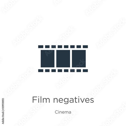 Photo Film negatives icon vector