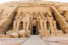 The Great Temple At The Ramses...