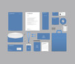 Blank Corporate identity set branding template design kit. editable brand identity with abstract background color for Business Company and Finance Vector eps 10