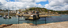 Panoramic View Of Mevagissey