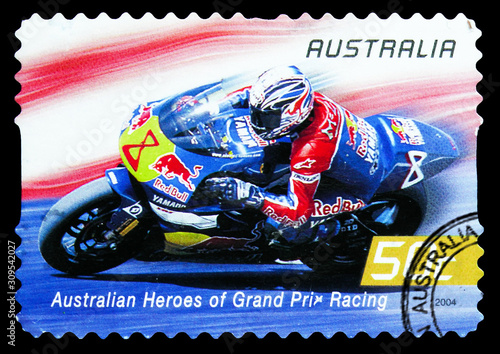 Photographie Garry McCoy, Australian Heroes of Grand Prix Motorcycle Racing serie, circa 2004