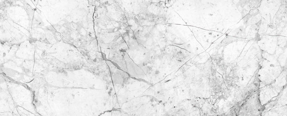 White Cracked Marble rock stone texture background