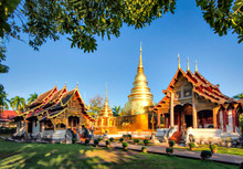 Wat Phra Sigh In Winter, Chian...