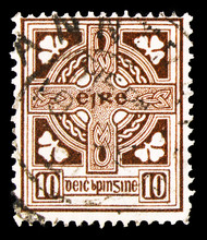 Postage Stamp Printed In Irela...