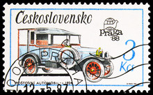 Postage Stamp Printed In Czech...