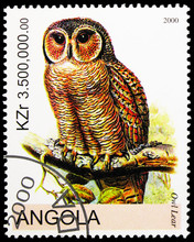 Postage Stamp Printed In Angol...