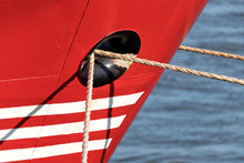 Mooring Ropes Through Hawsehol...