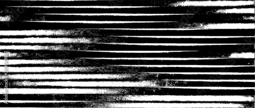 Swirled and curled stripes and brush strokes texture. Marble or acrylic atrwork imitation. Cool and swirly background. Abstract vector illustration. Black isolated on white. EPS10