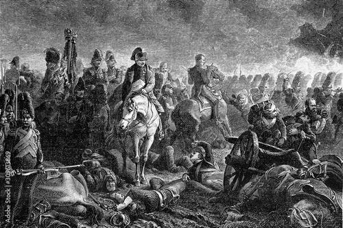 Battle of Waterloo Wallpaper Mural