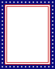 USA Frame Background