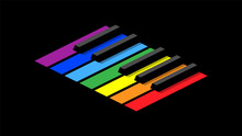 Piano Keyboard In Octave For I...