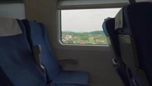 Inside A High-speed Train In C...