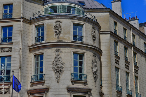 Photo Paris; France - april 2 2017 : boulevard des Capucines