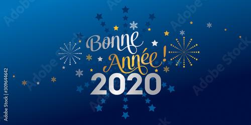 Fototapeta 2020 Bonne Année obraz