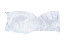 Crumpled Clear Plastic Bag